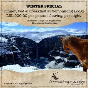 winter, lesotho, semonkong_lodge, africa, travel